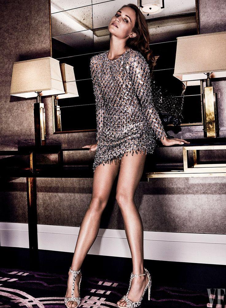 Alicia Vikander by Mario Testino for Vanity Fair September 2016 - Michael Kors C ...