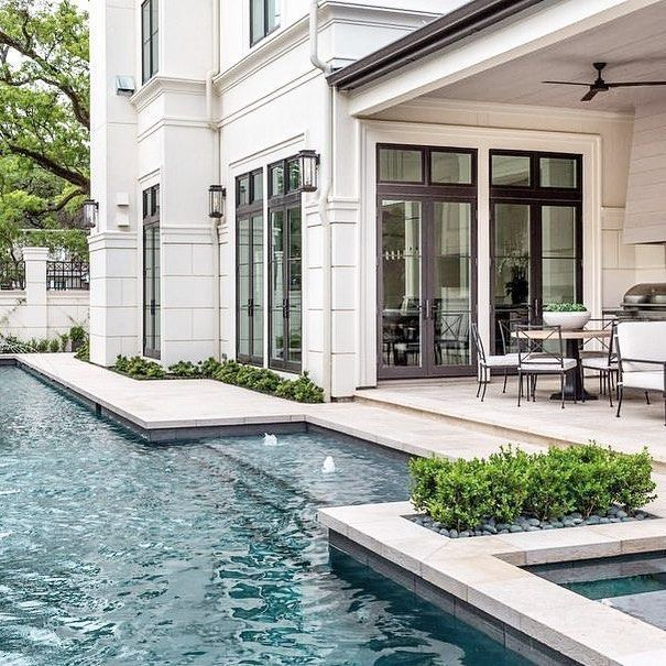 The house, the doors, the patio, the pool...I want it ALL!!!