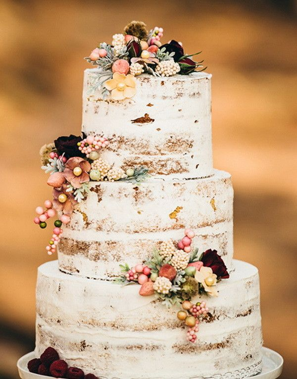 20+ Rustic Country Wedding Cakes for The Perfect Fall Wedding...