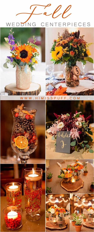fall wedding ideas - fall wedding centerpieces  #wedding #weddingideas #weddingc...