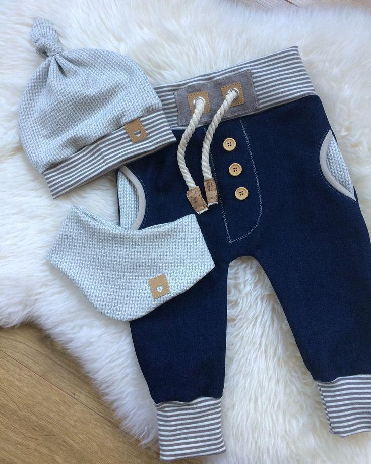 Baby Boys Sewing Boy Pants, Material Fabric Mix Combination, Bags, Ribbon Cor ...