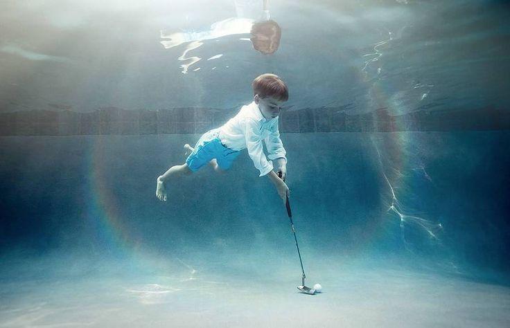 Underwater Photography of Children Playing Sports – Fubiz Media...