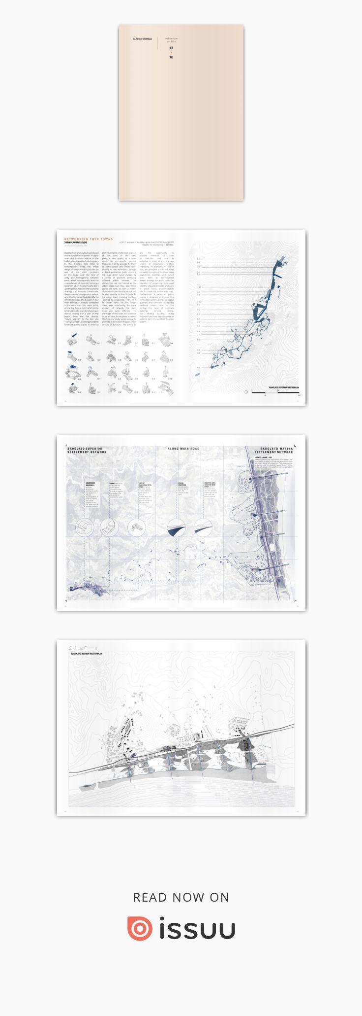 Architecture Portfolio 18 Architecture, urban planning, graphic design...