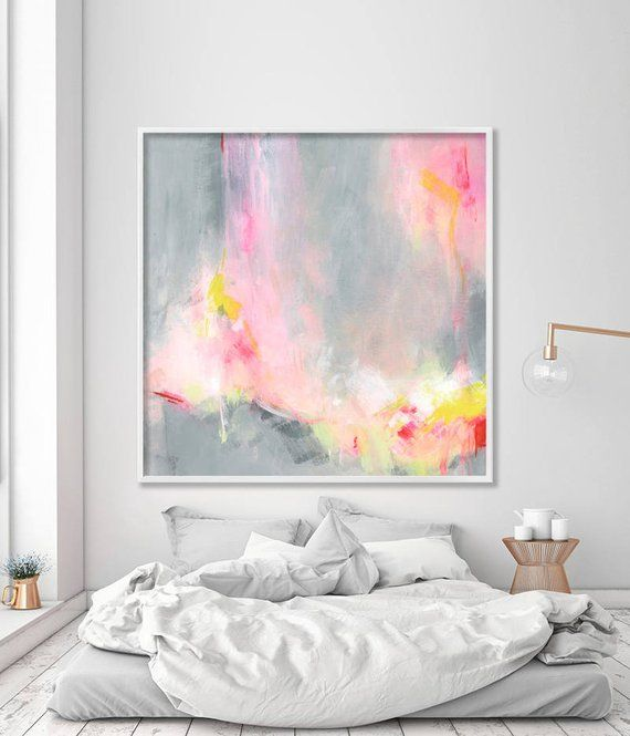 Large Wall of Acrylic Painting, Abstract Painting Art Print Hooponopono 02, Large ...