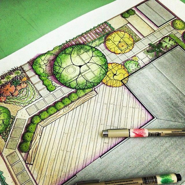 Drawing For Landscape Architecture Sketch To Screen To Site Pdf...