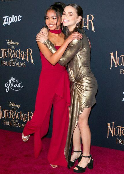 Navia Robinson Photos - Navia Robinson and Sky Katz are seen attending premiere ...