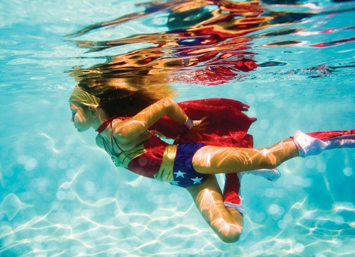 Elena Kalis captures whimsical and otherworldly scenes with underwater photograp...