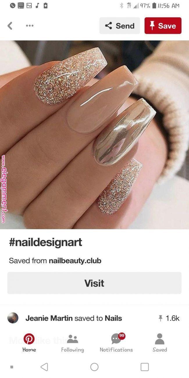 Pin of Tanja on nails 2019 Â«Elegant - #on #Elegant # nails #pin #Tanja #von ...