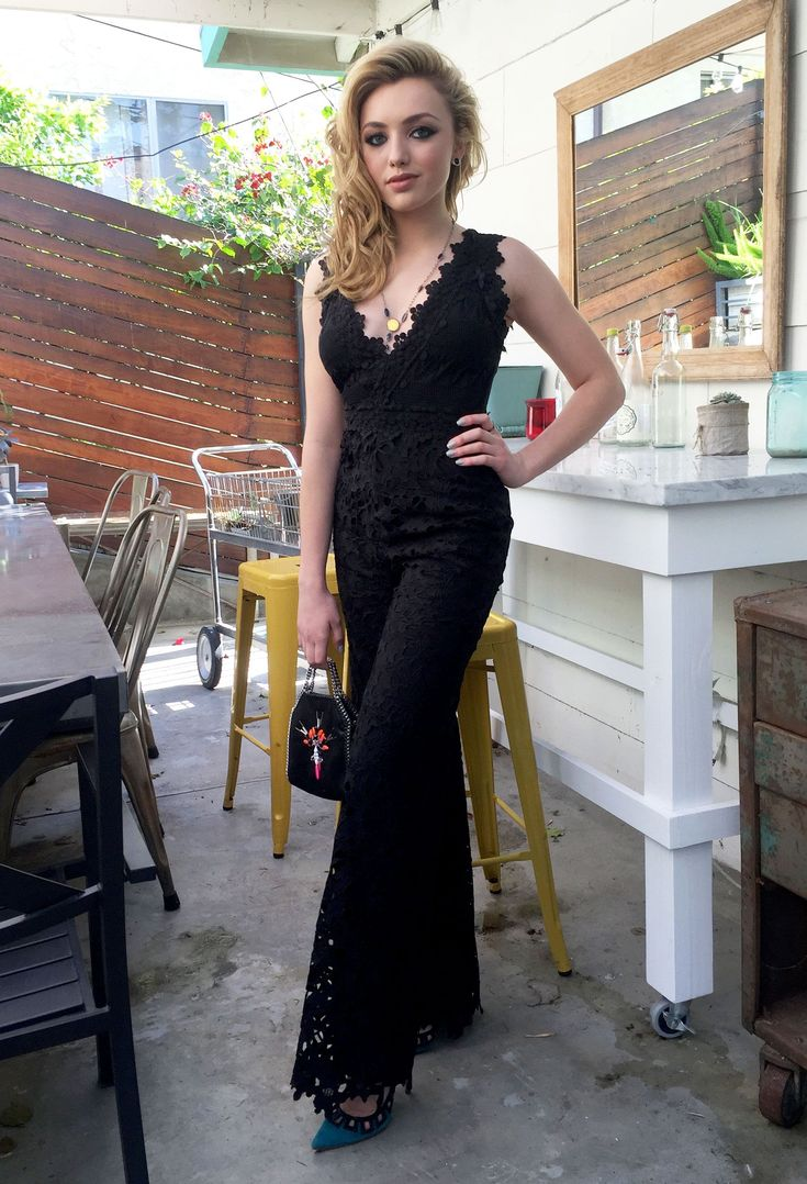 See Peyton List's Exclusive Kids' Choice Awards Photo Diary - A Quick Pose - fro...