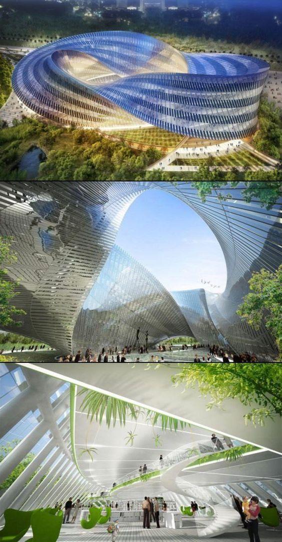 Modern architecture 148 Futuristic architecture Amazing architecture Architectur...