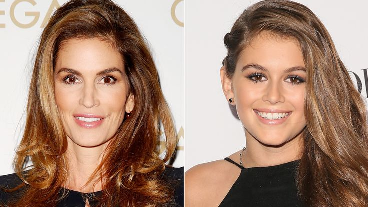 Celebrity Kids Who Look Just Like Their Famous Parents - Cindy Crawford and Kaia...
