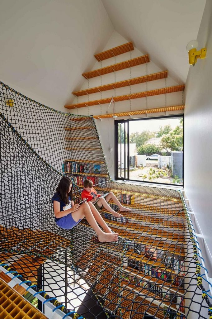 Sustainable renovation that speaks to kids and adults. Photography by Peter Benn...