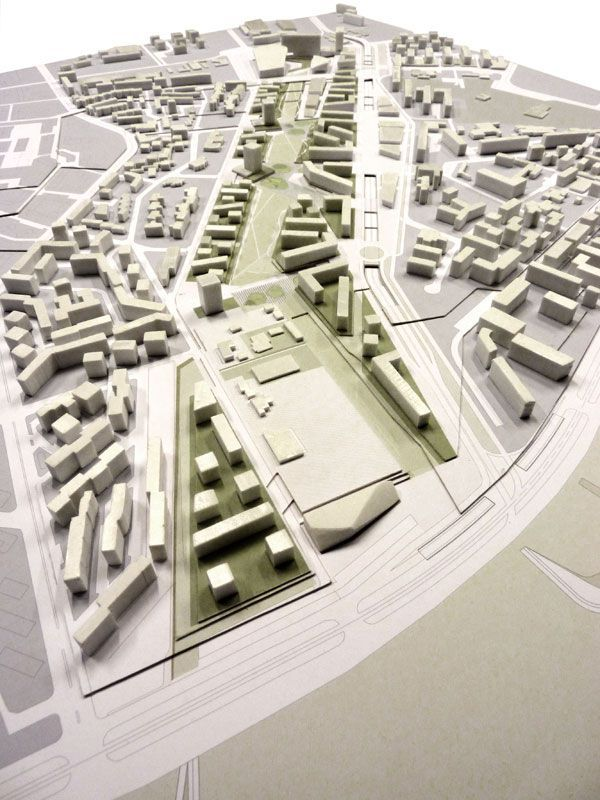 urban plan model - Google Ara ...