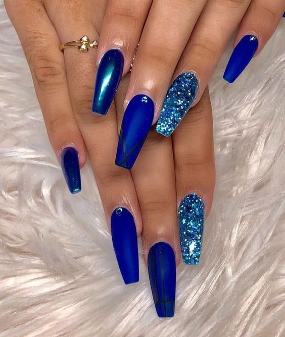 25 50 Fabulous Coffin Nail Designs for Women Page 7 of 50 ...