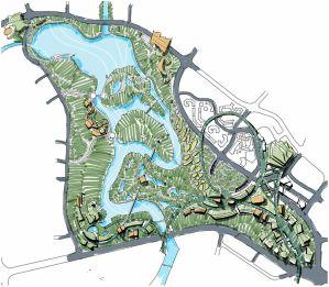 Jurong Singapore Schematic Master Plan, jurong, master plan sketch...