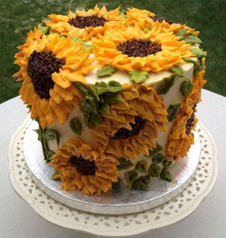 Beautiful Wedding Fall Cakes Decorating Ideas 29 - #Baby Cakes ...