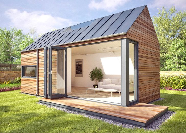 Pd Space Prefab - With these modular pop-up pods, you can create a garden studio ...