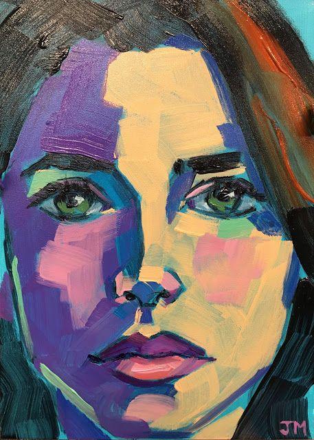 Jessica Miller Paintings: Half-Hour Portrait...