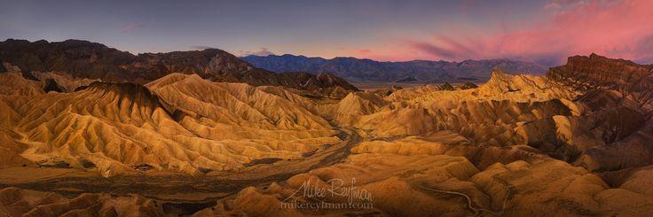 #panoramic. landscape #travel #desert #photography #mountain #usa #dawn #nationa...
