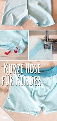 Instruction - Sewing trousers for children - Talu.de ...