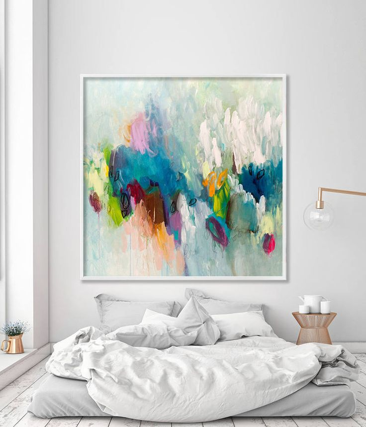 Large Image Print Giclee Print by Acrylic Painting Abstract ...