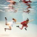 under water photography, Fashion photography, kids, happy, 'Alice in Wonderland'...