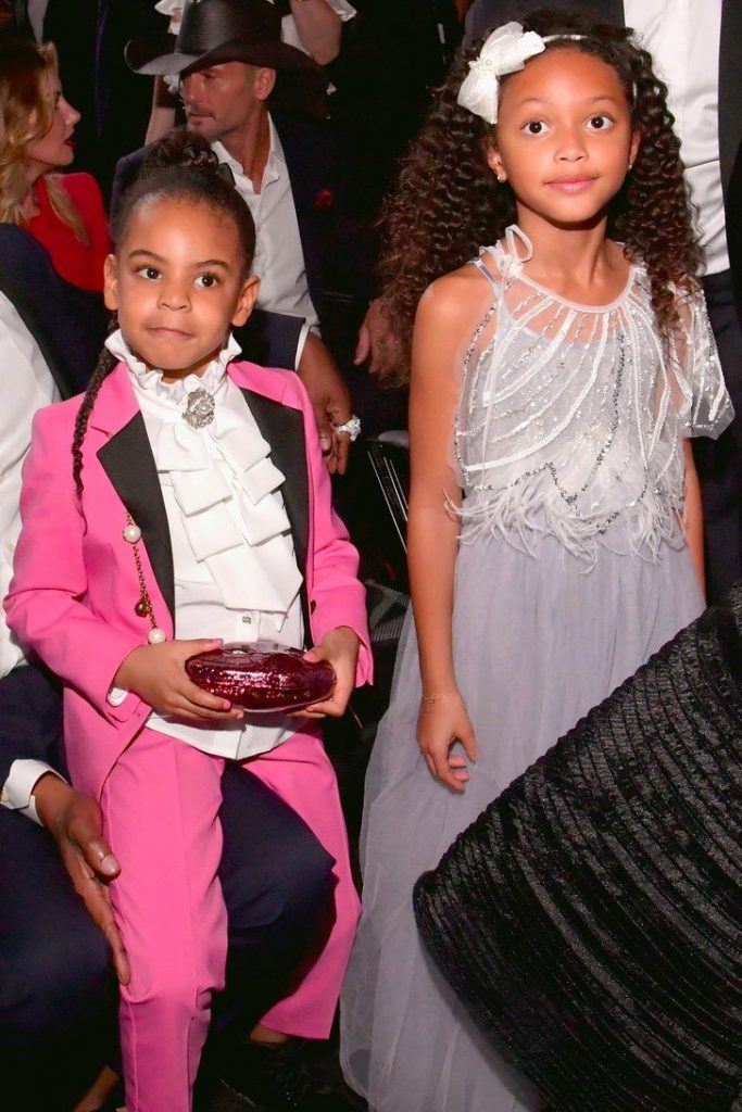 Who Was Blue Ivy's Adorable Friend at the Grammys?...