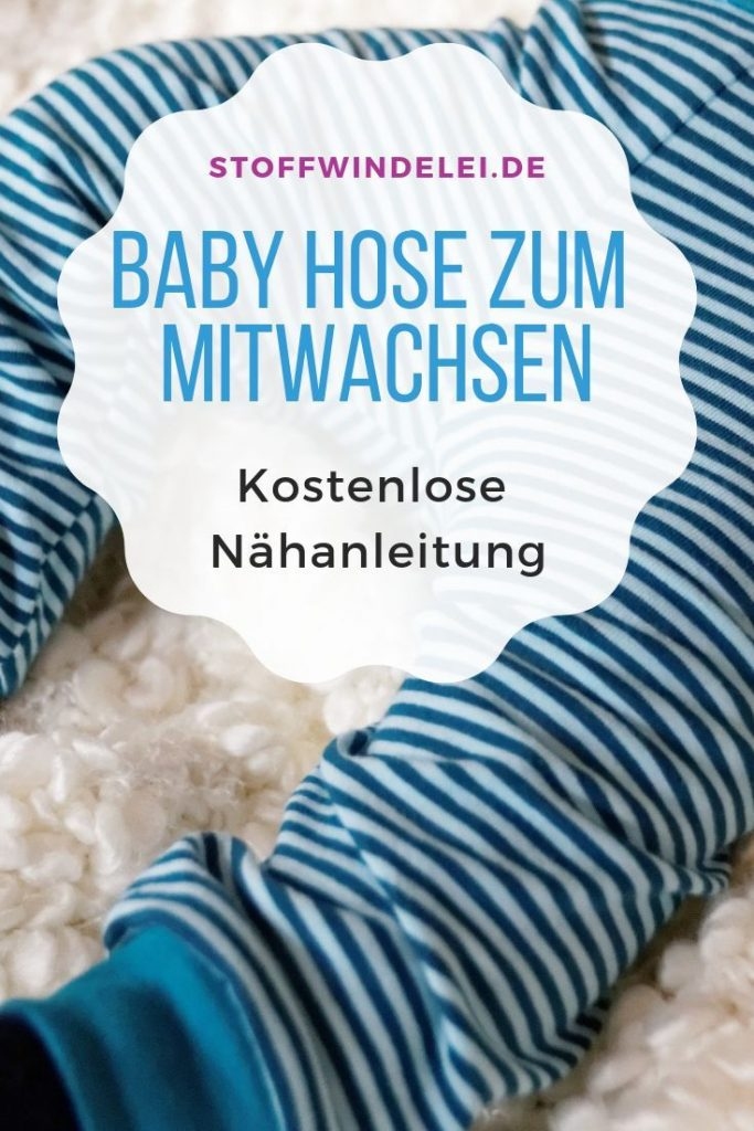 Free Pattern incl. Sewing Pattern / Freebook: Baby Clothing - Baby Pants ...