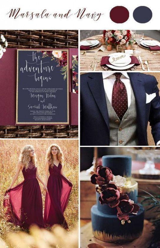 Wedding Colors Gold and Burgundy - #Burgundy # Colors #Gold #Wedding #and #weddin ...