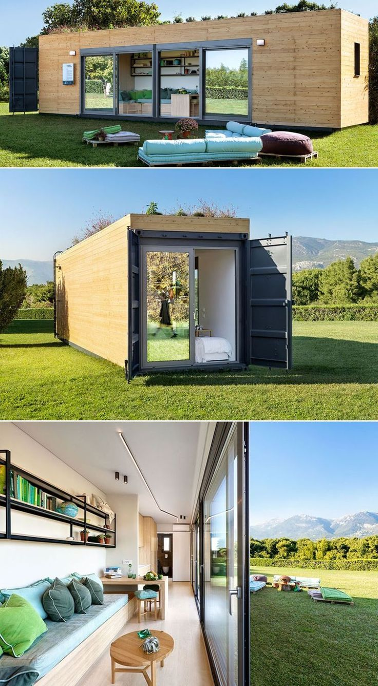 30+ Shipping Container Homes that Promote Green Living - #Container #furniture #...