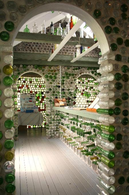 Bottle Houses at Prince Edward Island -- The Bottle Houses were started in 1980 ...