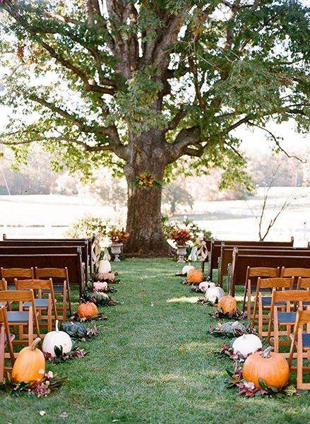 21 Incredibly Amazing Fall Wedding Decoration Ideas #modernwedding #life #Everyt...