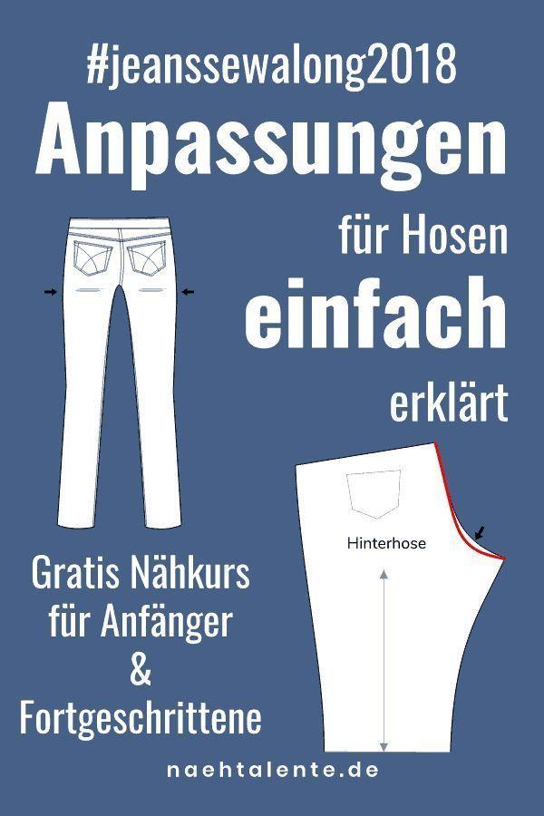 Jeans Sew Part 2: Fit Changes For Pants ...