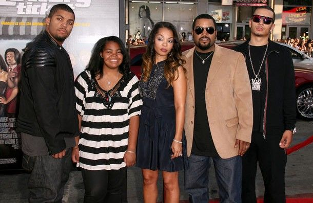 ice cube and family...