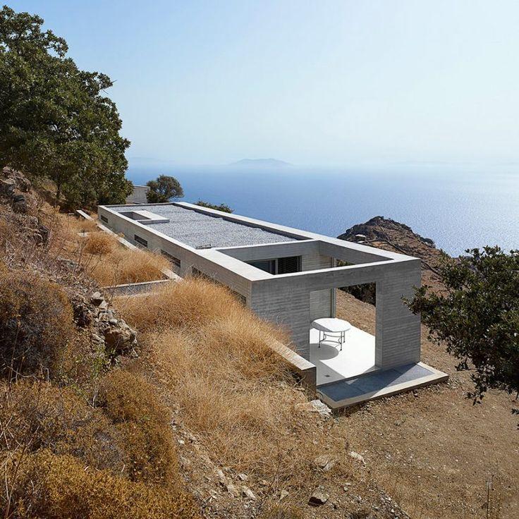 En Route Architects perches Parallel House on Greek hillside...