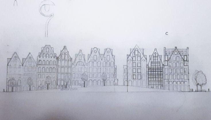 Plan for redevelopment of the site Belgacomtoren, Ghent, Belgium.