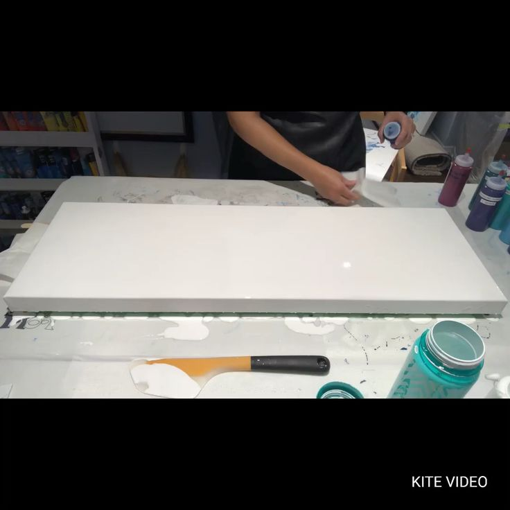#116 - My Birthday Dutch Pour! My biggest canvas yet!! | Acrylic Pouring | Fluid Artist - YouTube