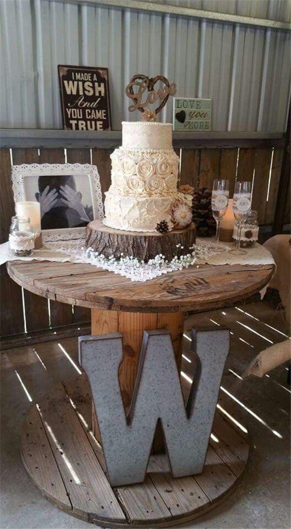 22 Rustic Backyard Wedding Decoration Ideas on a Small Budget Wedding i ...