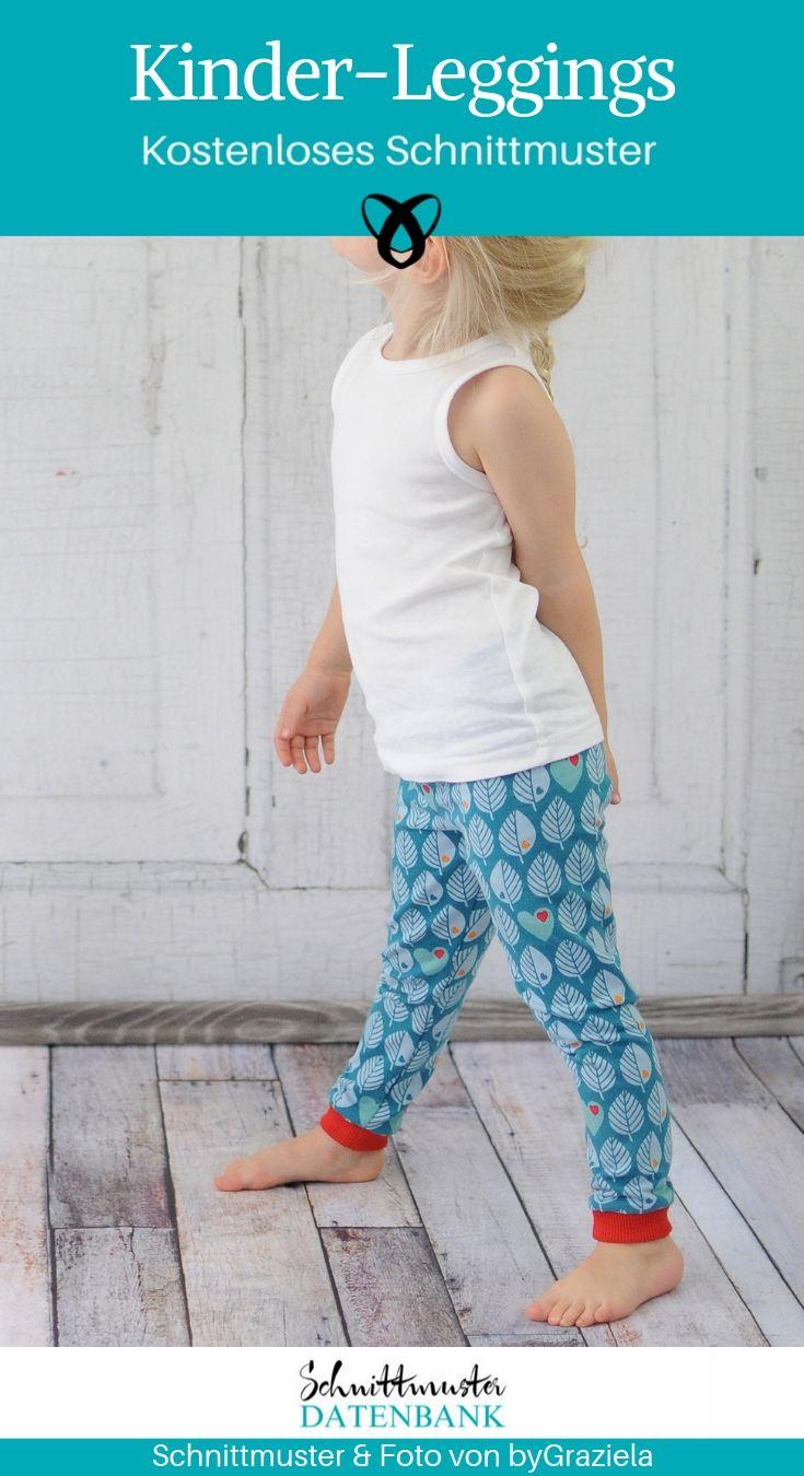 Kids 'Leggings Leggins Sew Free Sewing Pattern Free Download by ...