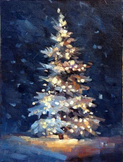 Christmas Acrylic Painting 19 - decoratio.co...
