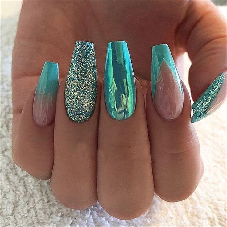44 Trends Women 2019 with Acrylic Nails # Acrylic Nails #with # nailideasacrylic2019 #naili ...