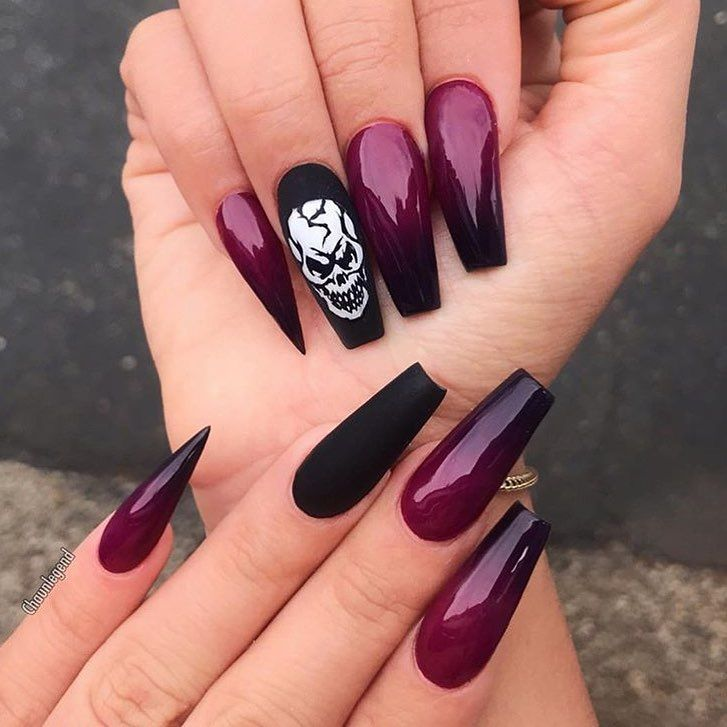 "Nail Art daily! on Instagram: ""• Deathly"" • • Did you know ..."