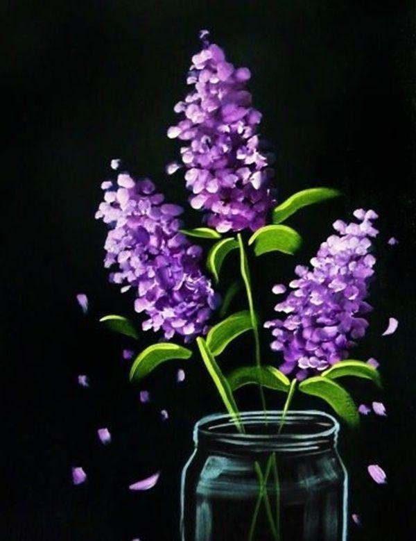40 Easy Acrylic Canvas Painting Ideas for Beginners by Rene Arehart Ackley...