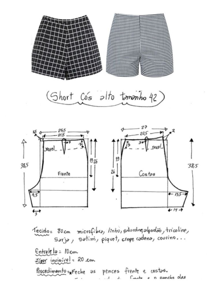 24+ Brilliant Photo of Shorts Sewing Pattern Shorts Sewing Pattern Ort Dikimi Cl...