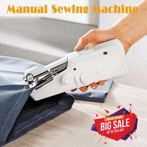 Mini Handheld Manual Sewing Machine Quick Stitch DIY Tool(BUY 1 GET 2ND 10% OFF)...
