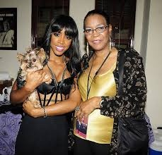 Kelly Rowland with her mother #MothersDay...