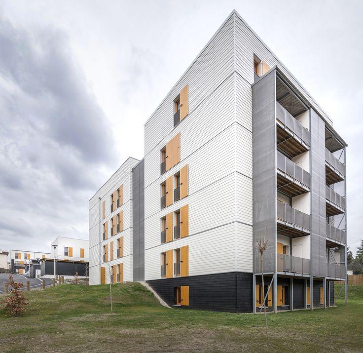 60 Social Housing Apartments in Rive-De-Gier  / Tectoniques Architects...