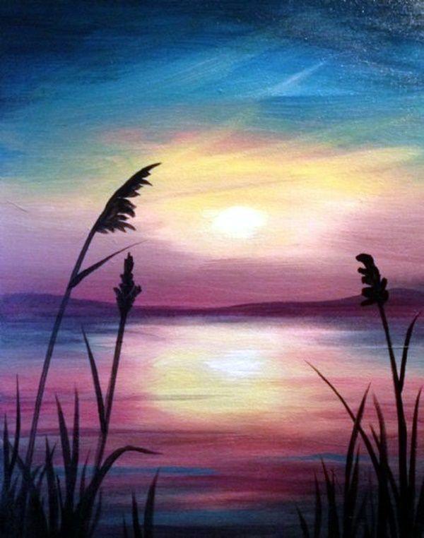 45 Beautiful Examples Of Acrylic Painting - #Acrylic #Beautiful #Examples #paint...