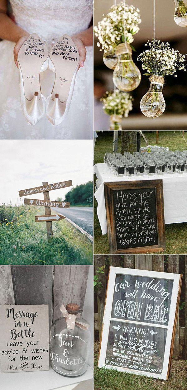 budget friendly DIY wedding ideas for 2020...