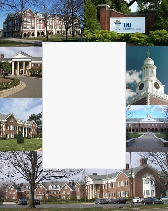 The College of New Jersey Graduation Gift, Picture Frame, Photo Mat, Unique, Sch...